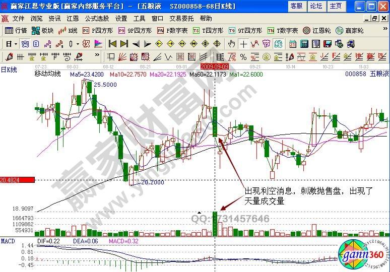 股票(000858)经典实战案例解析